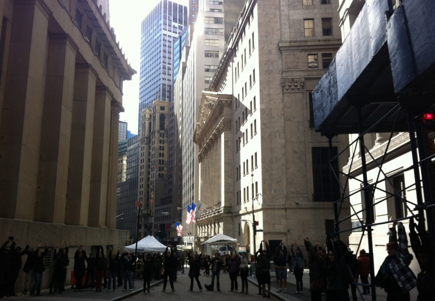 Stretching on Wall Street ahead of the mammoth Freeze Tag game