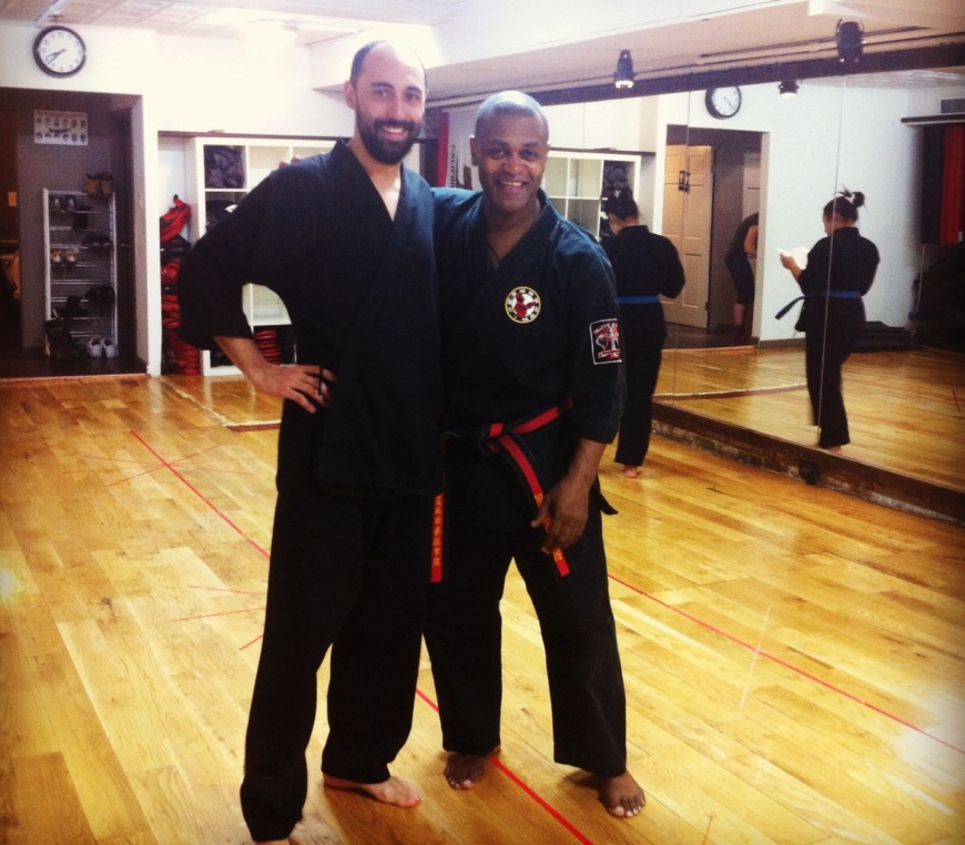 Friendly instructors at the CHKA studio