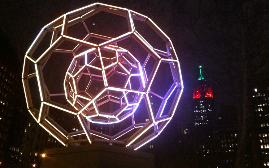 Thankfully there are lots of freebies in New York... like Buckyball