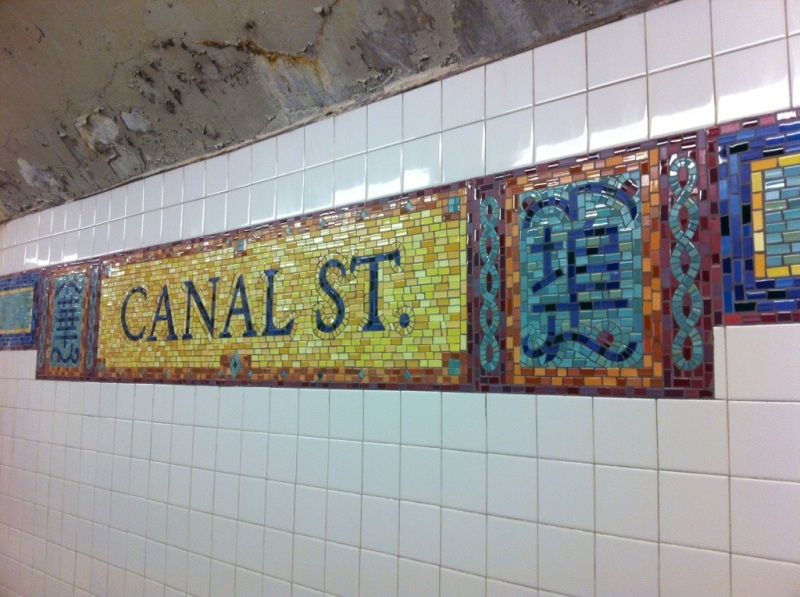 First stop - Canal Street