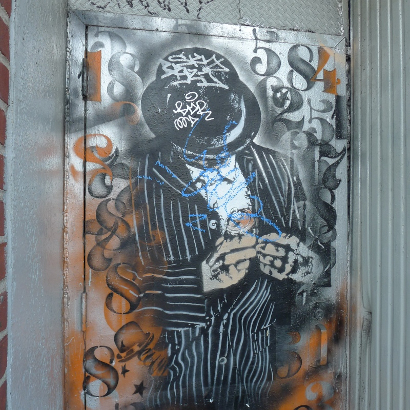Nick Walker stencil on Chrystie Street