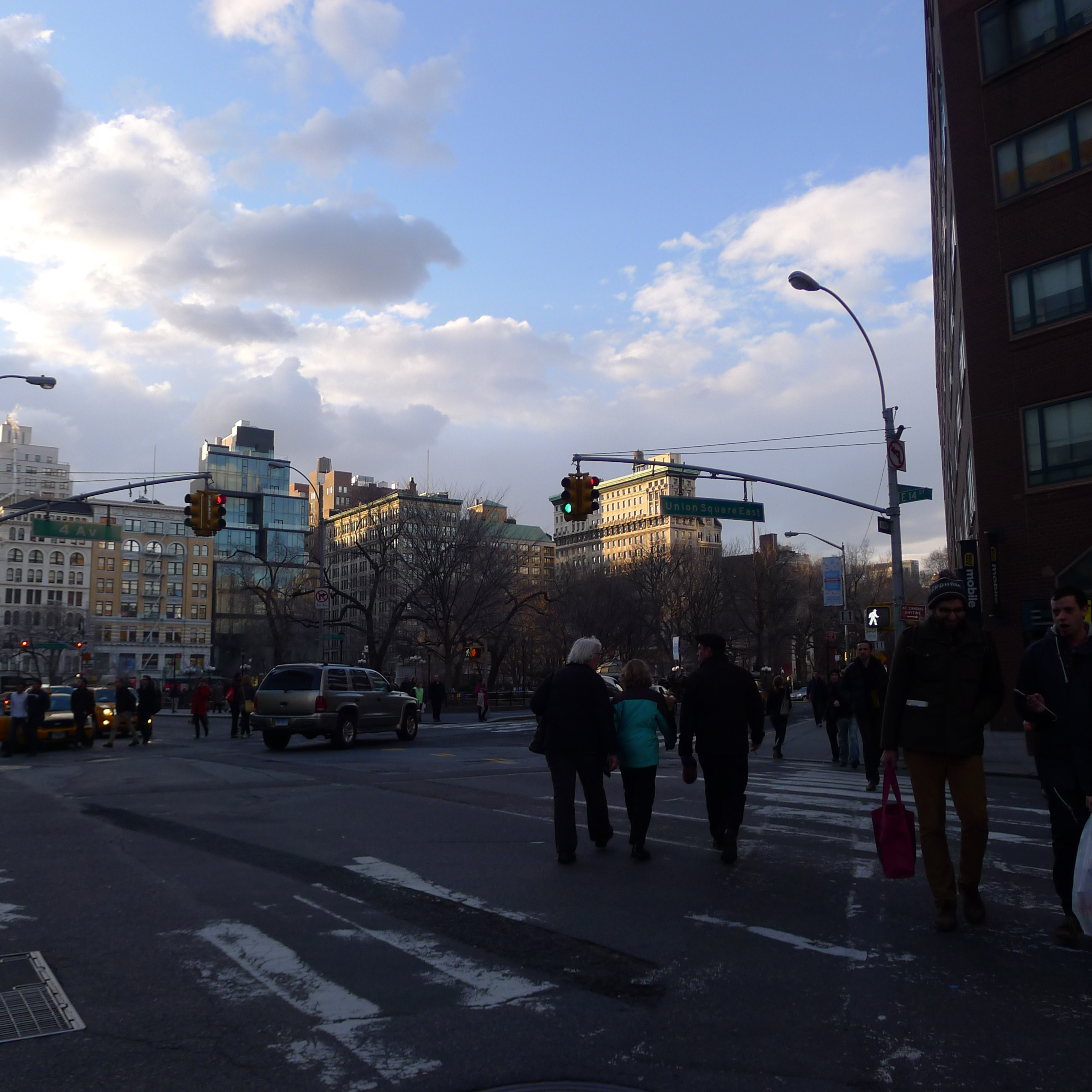 Jaunt to Union Square