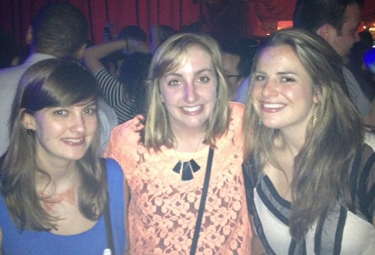 Meghan, Kara and I love Rebel Bingo