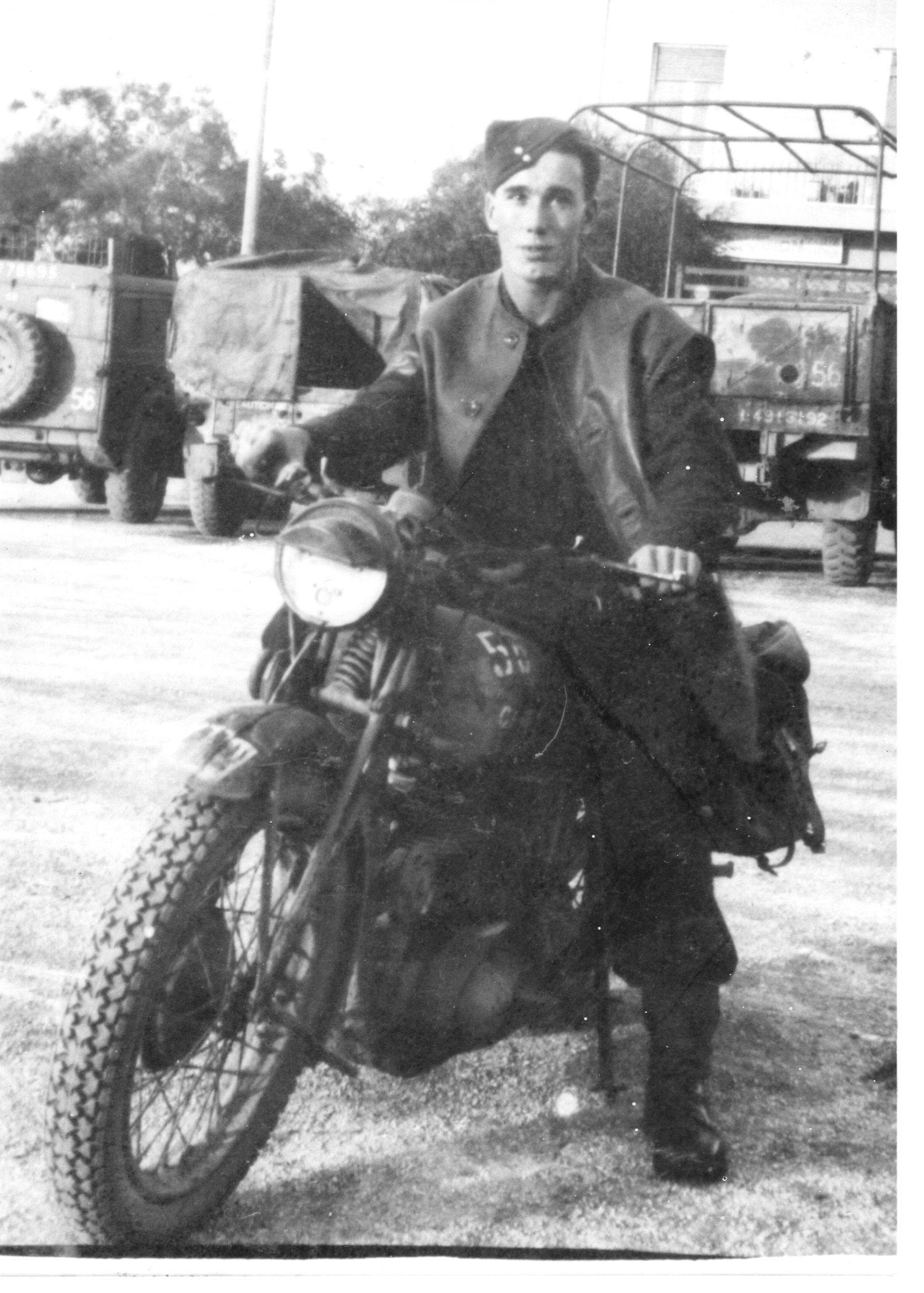 Grandad Jones in Athens, 1944