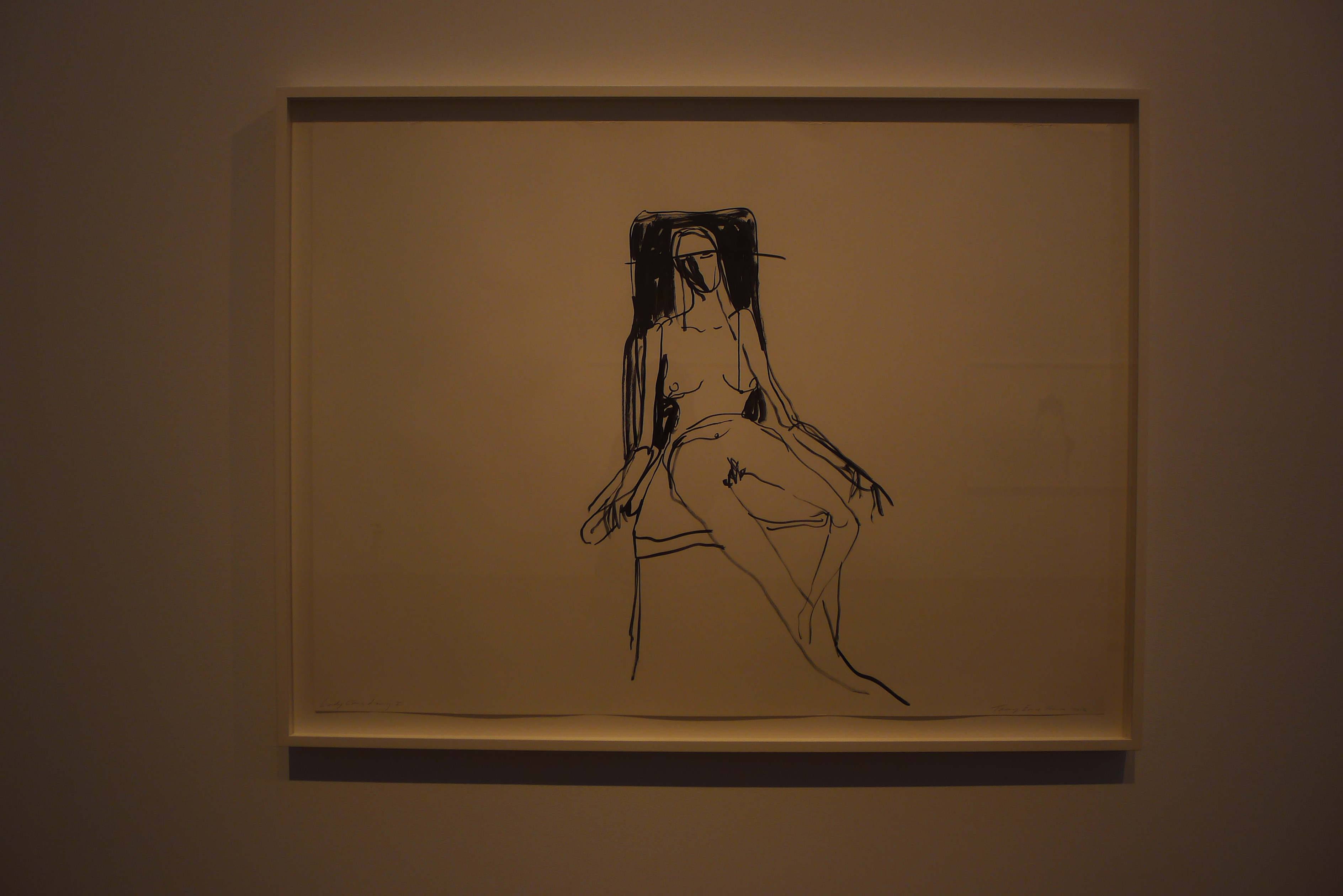 Tracey Emin exhibit