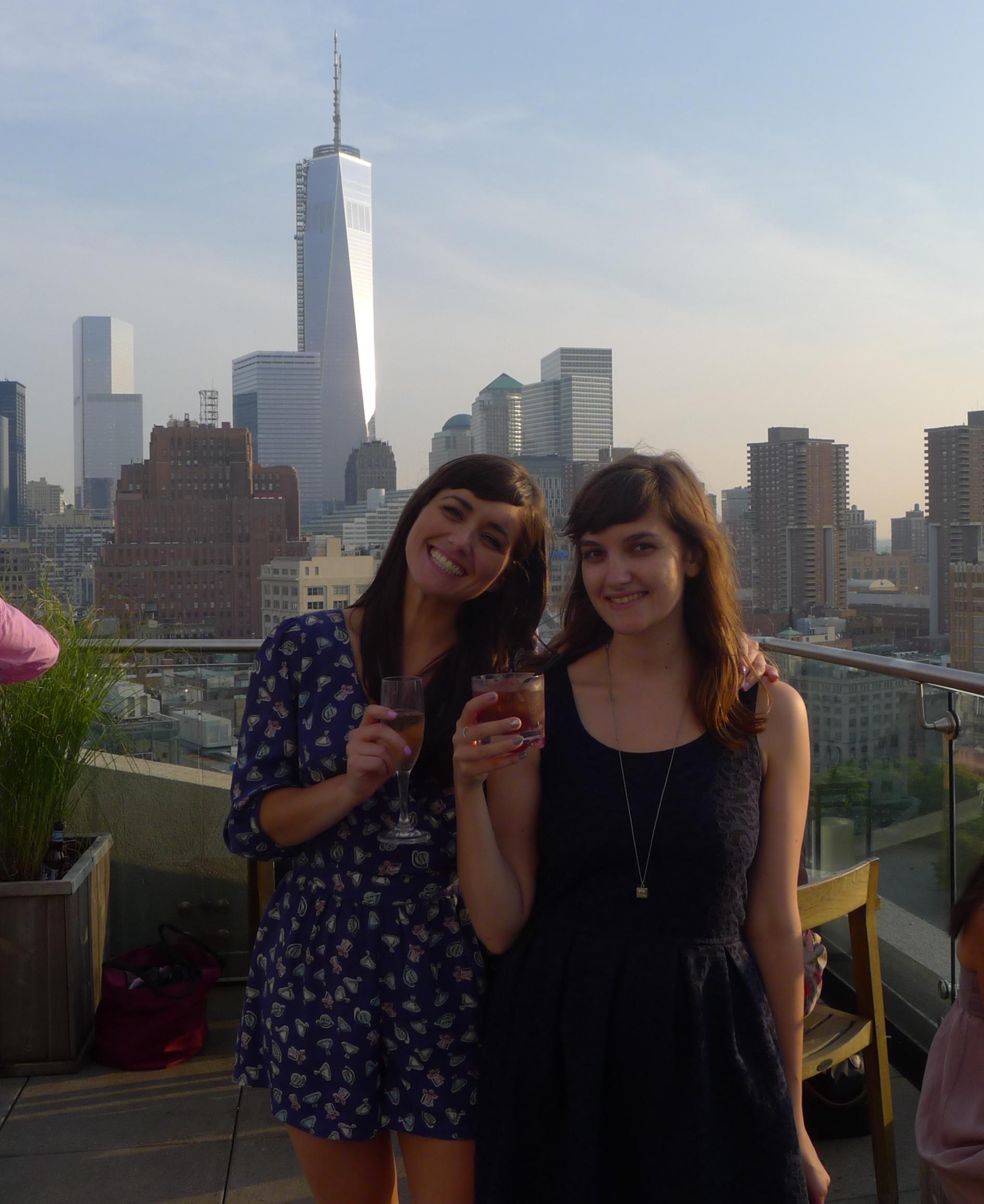 With Rachel