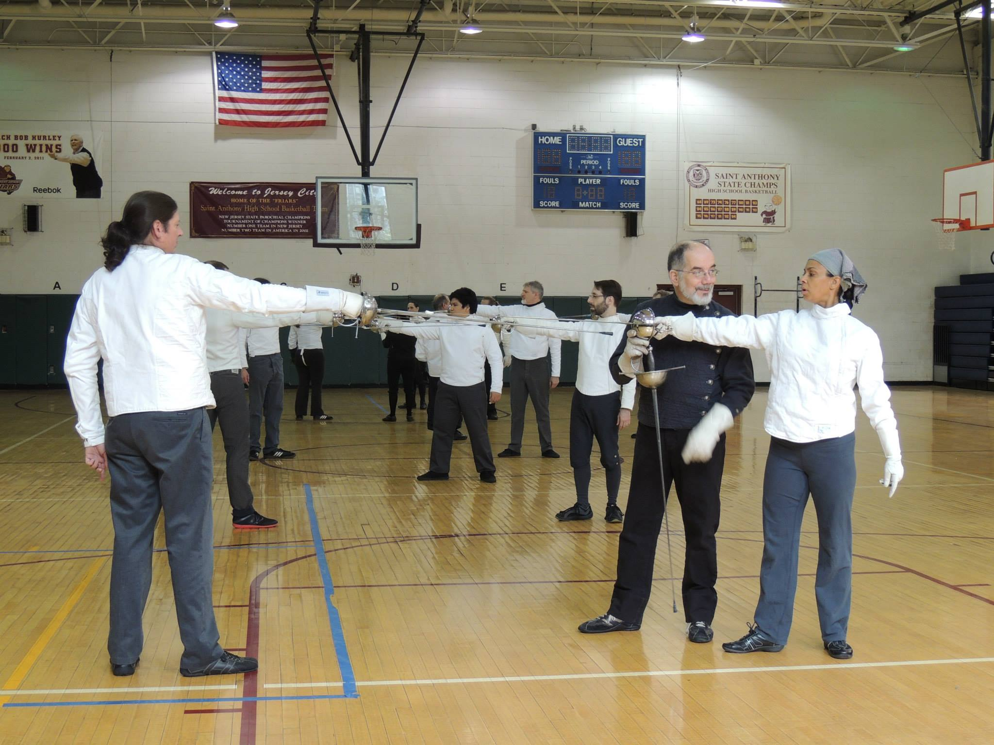Maestro Martinez directs a class