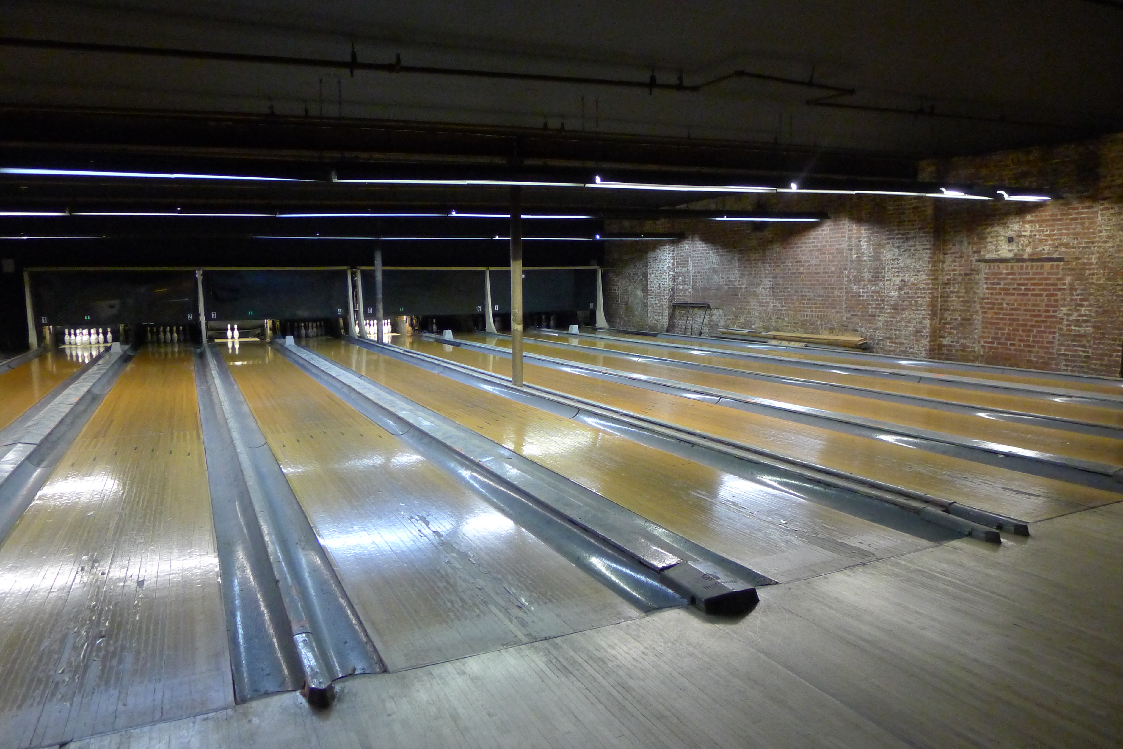 bowled at a retro alley | Today\'s the Day I