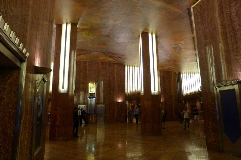 Went Inside The Chrysler Building Today S The Day I