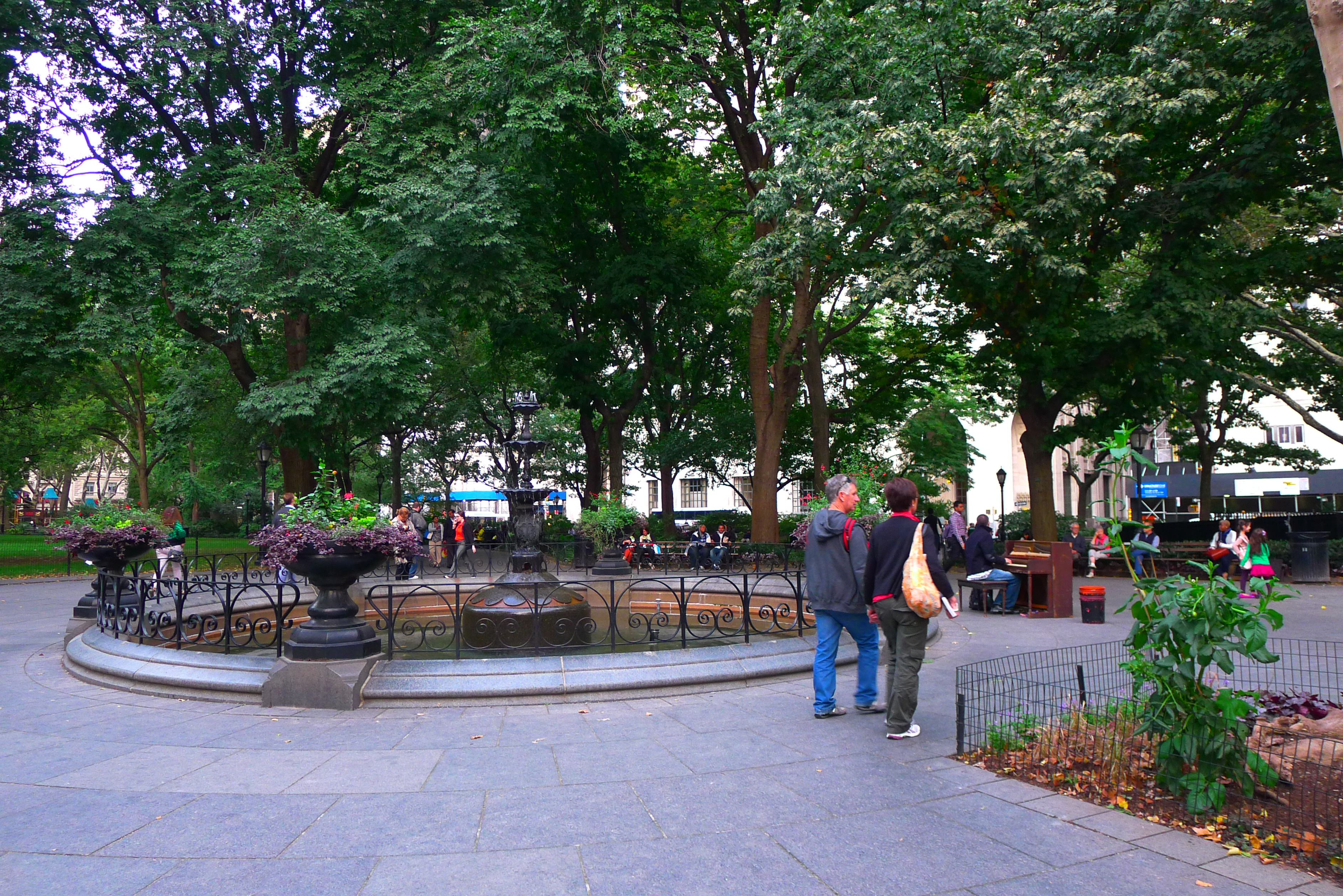 Back in Madison Square Park